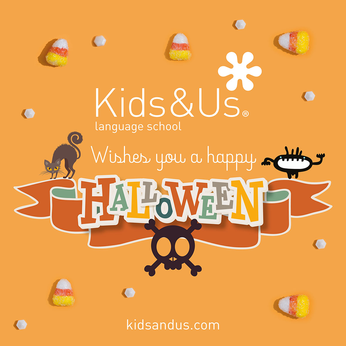 Halloween activities at Kids&Us Ferrol
